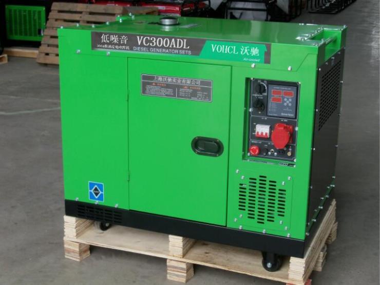 300A柴油发电电焊机(220V/380V单三相两用)