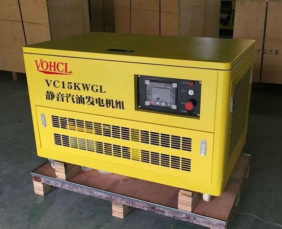 15KW汽油发电机静音低能油耗