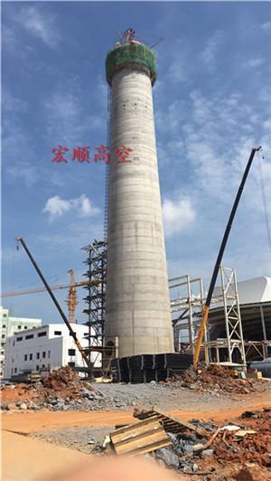衡水烟囱安装螺旋钢梯平台