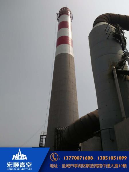 水泥烟囱安装航标灯资讯: