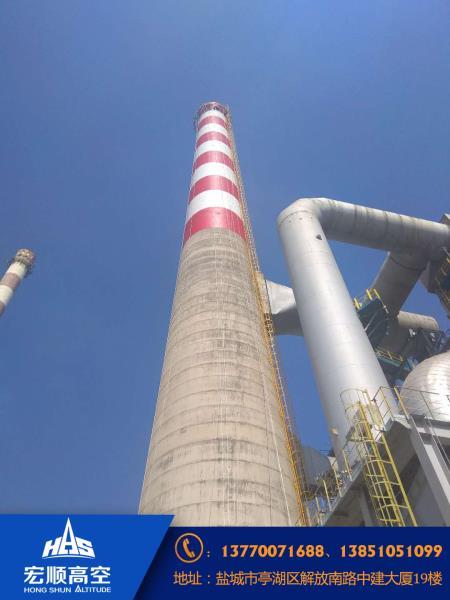 55米砖烟囱新建资讯: