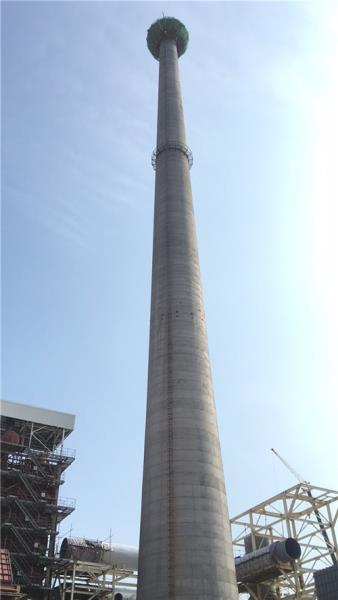 水泥烟囱防腐改造