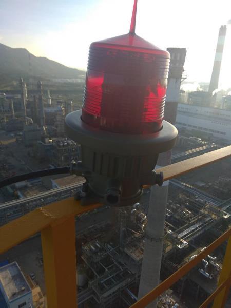 烟囱维修更换航标灯资讯: