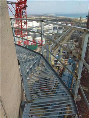 新闻:吕梁砖烟囱安装钢梯公司/欢迎访问