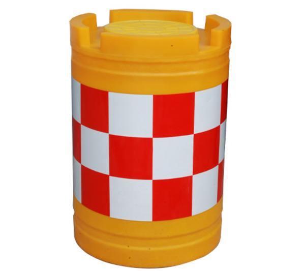 义乌市政施工塑料防撞桶警示注水桶哪里有卖