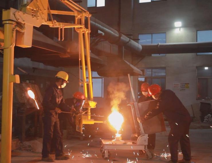 铸钢件ZG30Cr26Ni炉罐供货总量