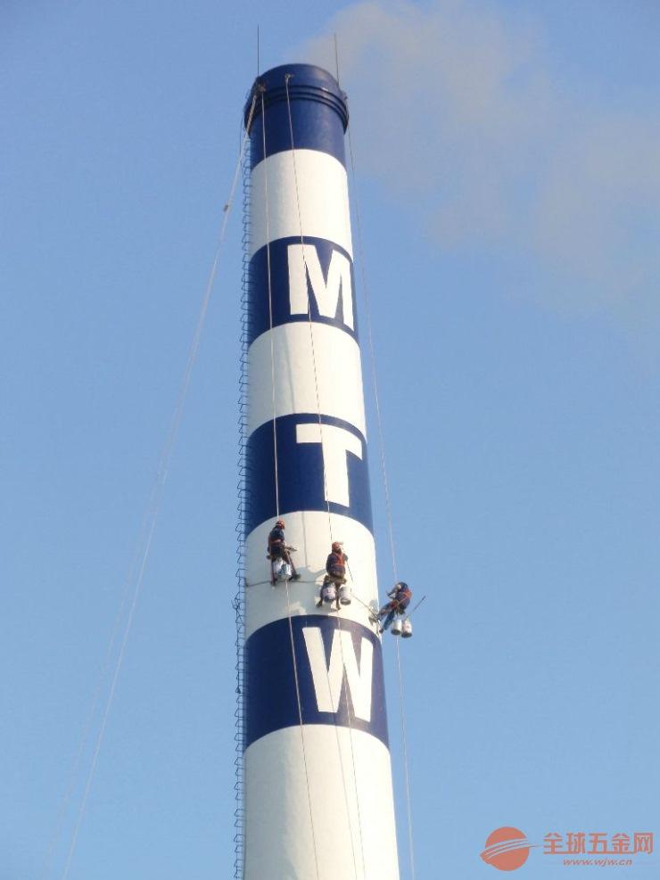 烟囱维修、石家庄电厂烟囱爬梯护网平台防腐工程公司