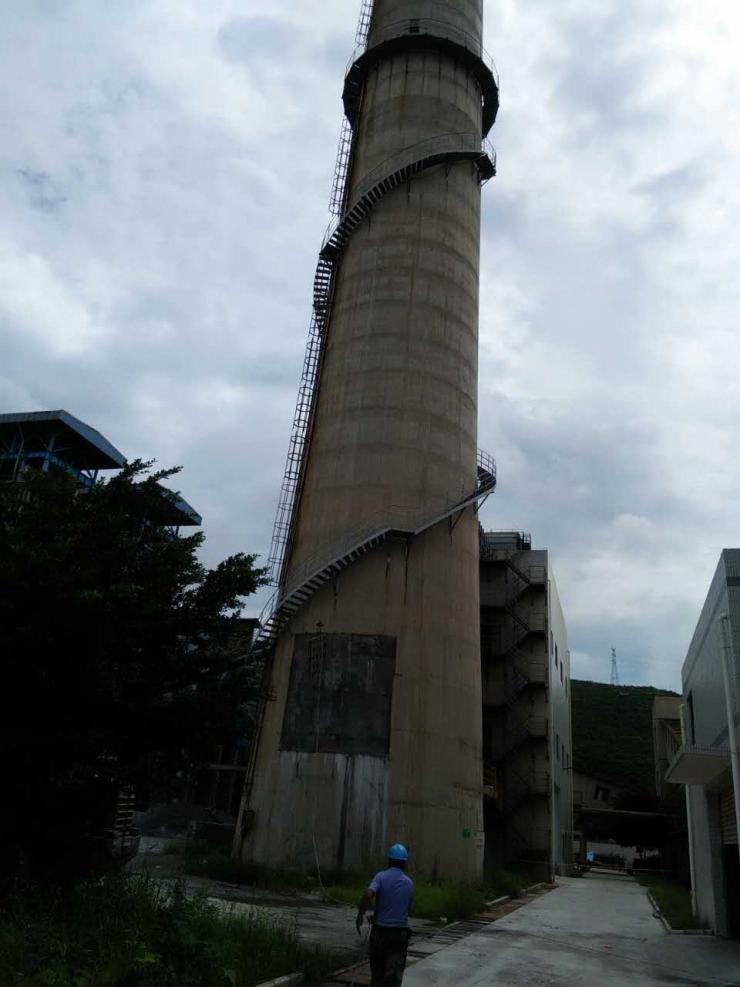 邛崃市烟囱更换爬梯多少钱欢迎访问
