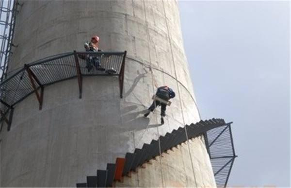 射洪县凉水塔更换爬梯栏杆公司欢迎咨询