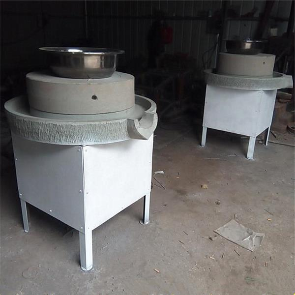青島電動芝麻醬石磨機 全自動石磨機 生產經銷商