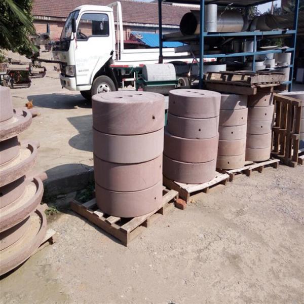 今日报价 庆阳商用电动石磨机 牧盈原生态石磨机