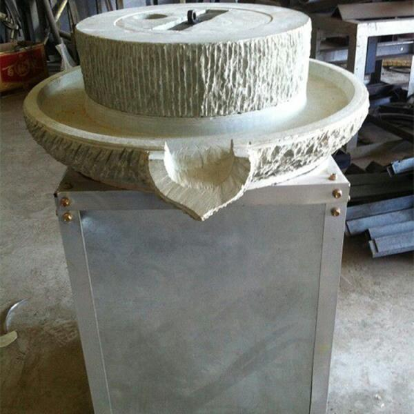 优质 阿拉善盟不锈钢面粉石磨机 自动麸皮分离面粉石磨