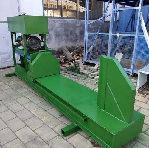 和生机械新款劈柴机,液压劈柴机教程