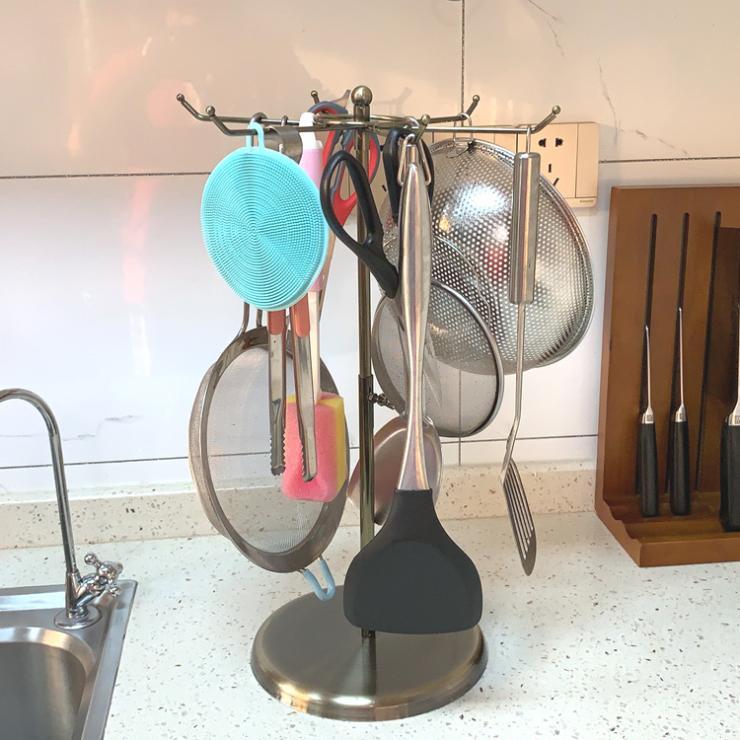 厨房置物架 收纳架 厨房用品 厨房挂具 挂架 挂钩