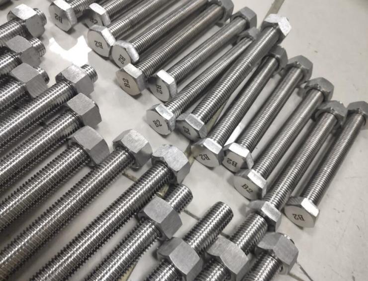 SA453 Gr660大扁头自攻钉-晶粒度