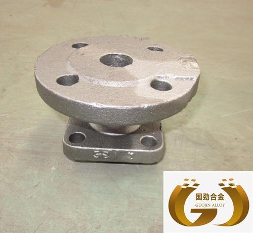 1Cr13合金钢游标卡尺尺头熔模铸造