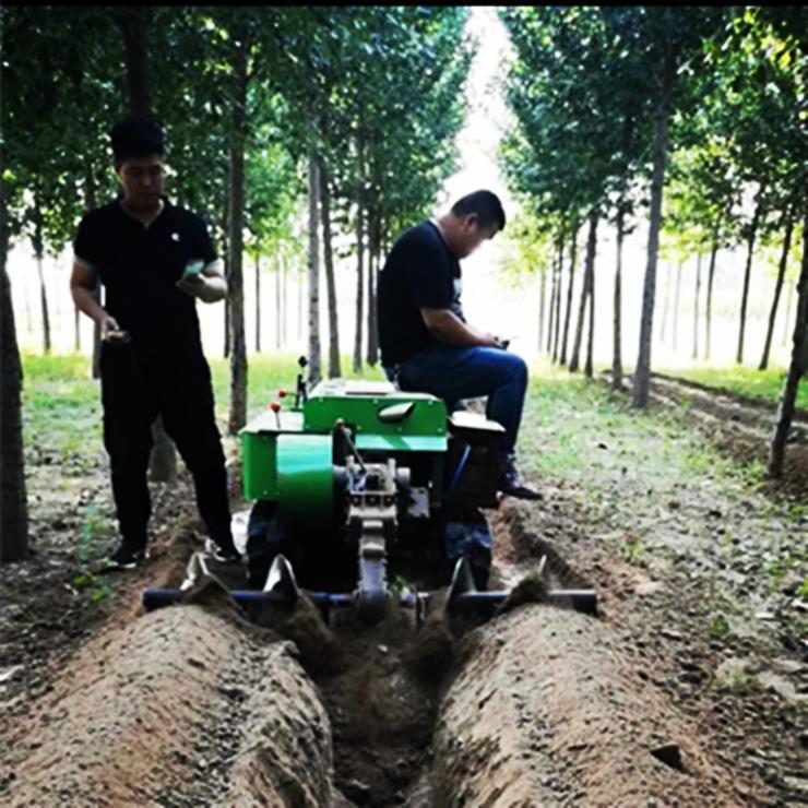 硬土质开沟机 微耕机
