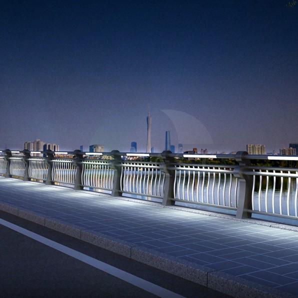 深圳河道護欄型號