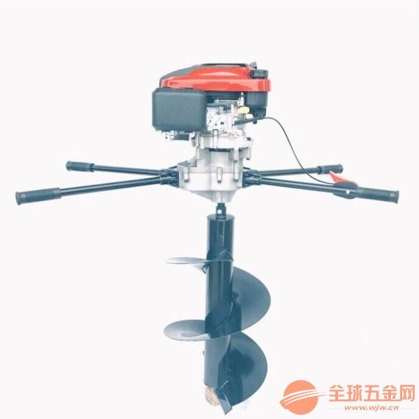 植樹挖坑機視頻 果樹植樹挖坑機雙人手提挖坑機