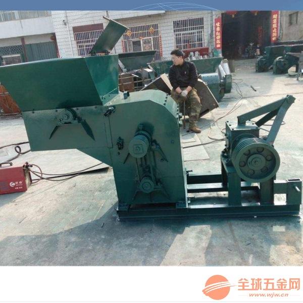 花生秧粉碎機 柴油機自動進料粉碎機