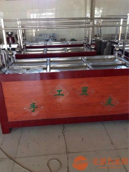 酒店蒸汽款油皮机 电加热豆制品加工腐竹机