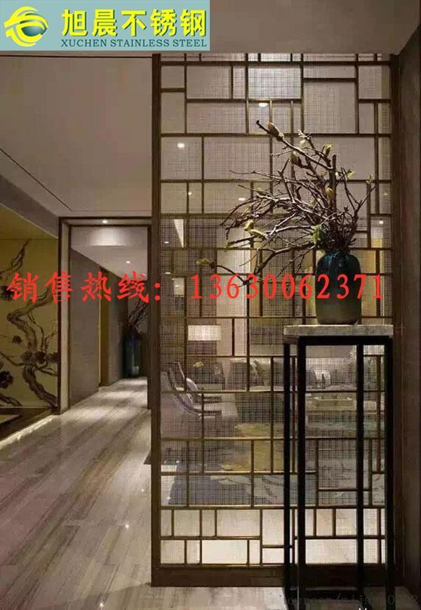 浦江县酒吧不锈钢镂空屏风市场价