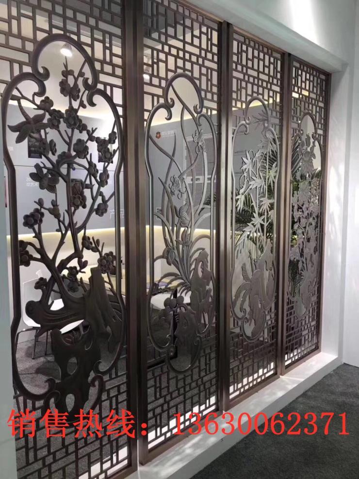 新邱区售楼部用不锈钢屏风哪家好