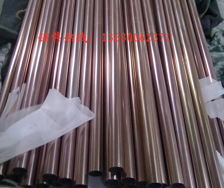 甌海區彩色不銹鋼方管批發