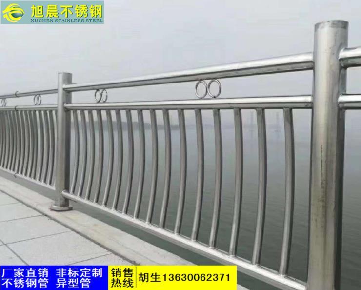西宁304不锈钢面包形楼梯护栏管厂家直销