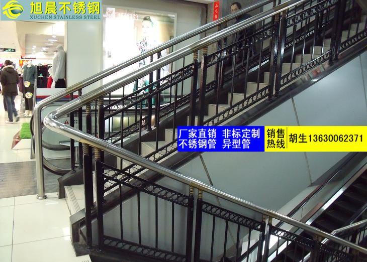 漯河304不锈钢面包形楼梯护栏管零售