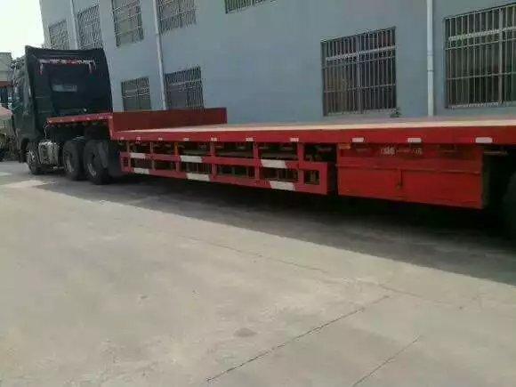 梅州五华跑七台河13米爬梯车出租专业挖机钻机运输