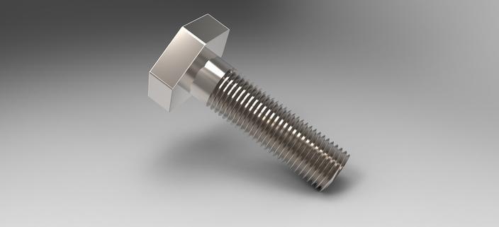 哈氏合金外六角螺栓