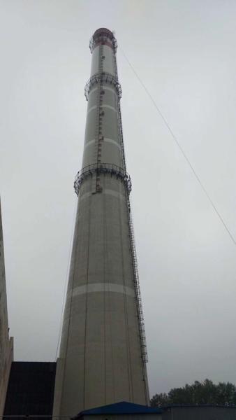 永州检修烟囱爬梯平台施工价格