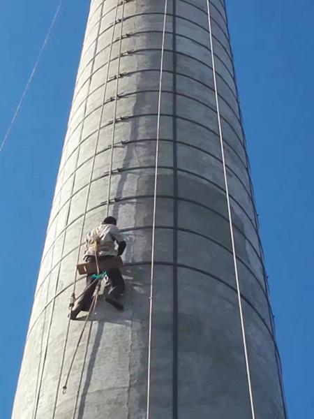 株洲烟囱顶口维修施工单位