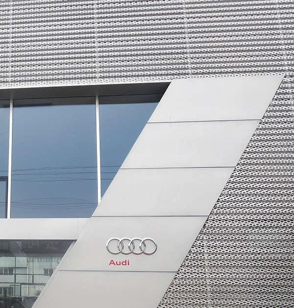 氟碳善禾铝单板厂家生产定制 造型铝单板生产定制