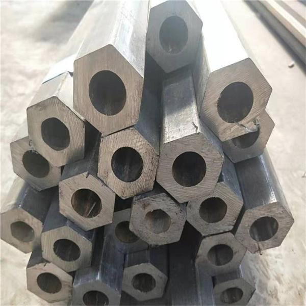 济南机械配件16MnQ345B六角管45#冷拔六角管型号