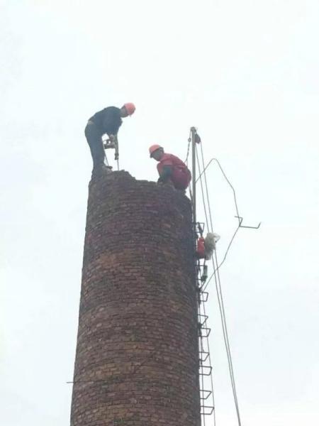 姜堰砖烟囱拆除公司