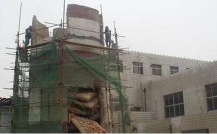 萧山化工厂烟囱拆除公司