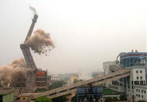 咸丰县拆除烟囱公司