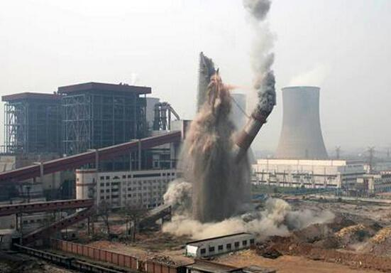 中甸县人工拆除烟囱公司