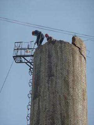 钦州砖厂烟囱拆除公司