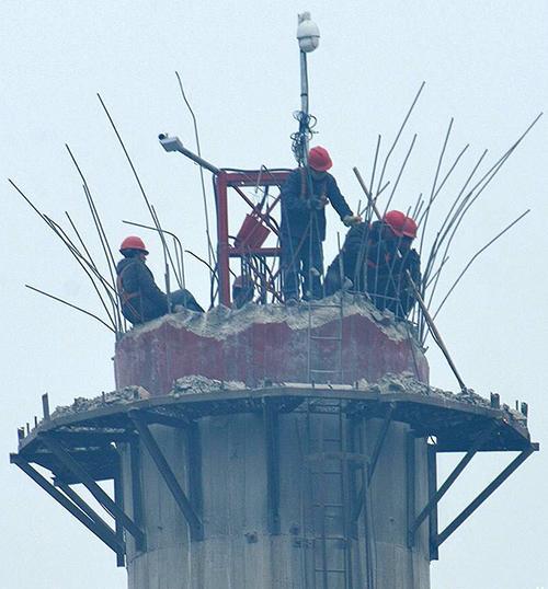 红花岗区砖烟囱拆除公司