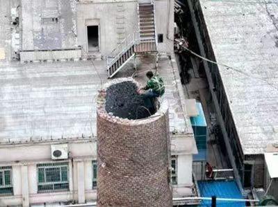 靖江水泥烟囱拆除公司