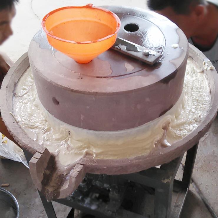 肠粉电动石磨机商用豆腐石磨机批发市场