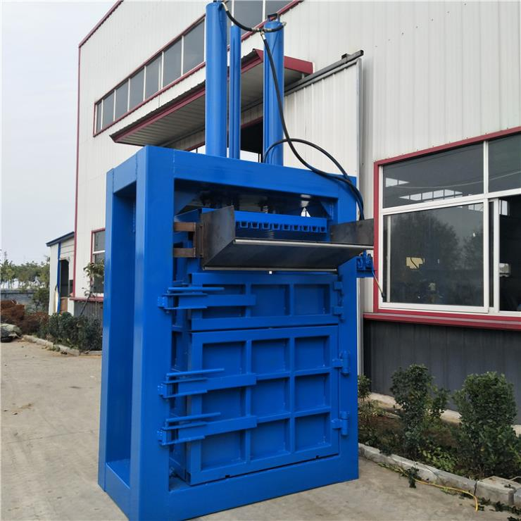 废纸液压打包机服装自动压缩打包机厂商出售