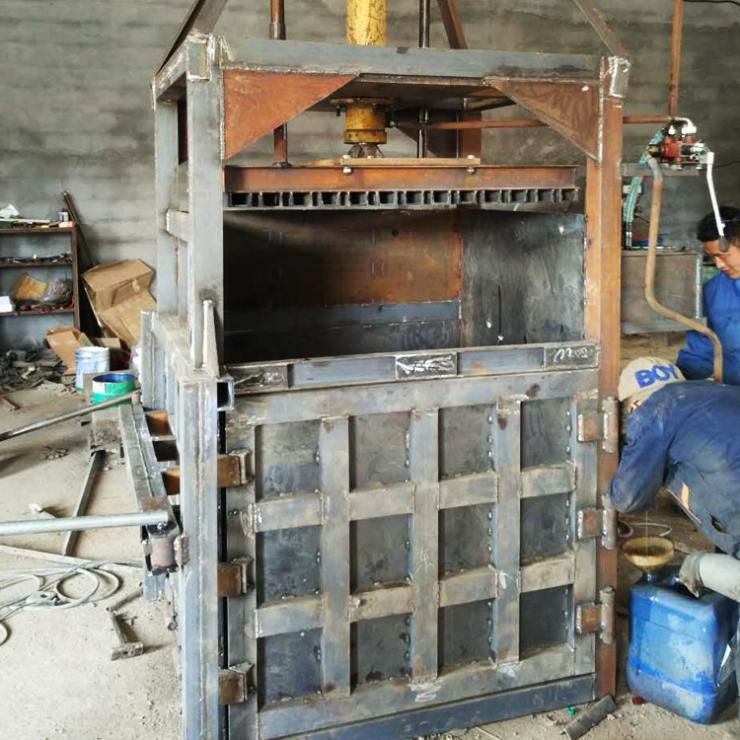 服裝液壓打包機 80噸金屬壓塊機 減少勞動強度