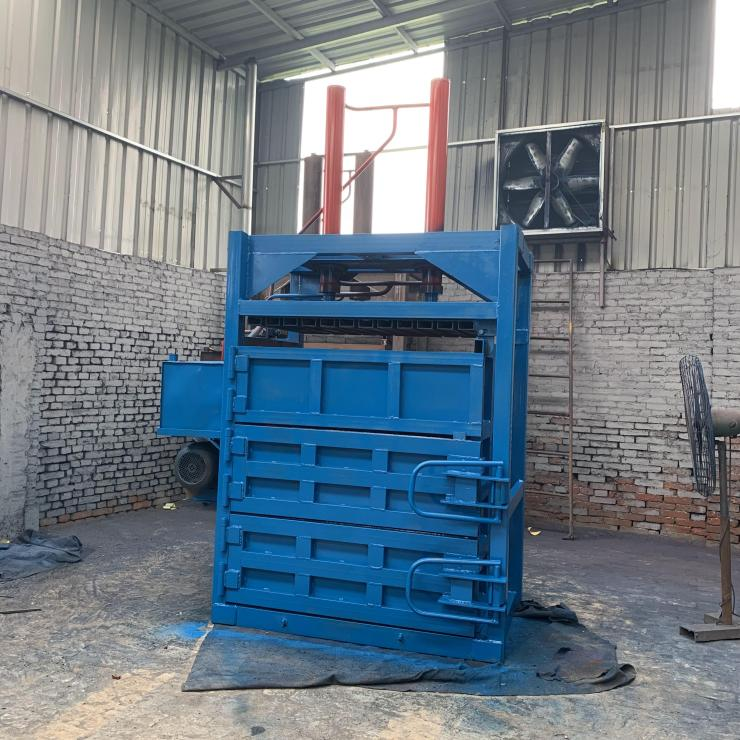 湖北省黃岡市棉花液壓打包機廠家供應