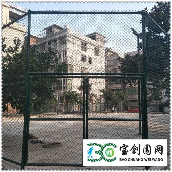 平顶山球场护栏网编制而成/便面处理使用寿命长