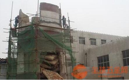 兰山区烟囱定向拆除公司