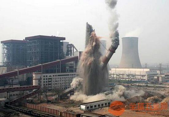 赤峰废弃烟囱拆除公司